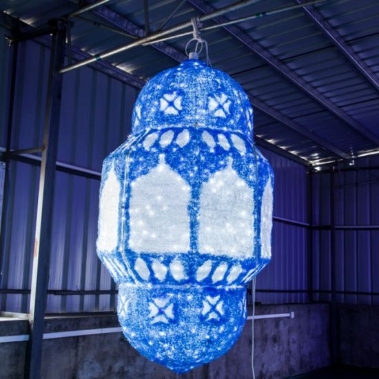 Outdoor Ramadan Street Lantern Motif Light for Celebration Ramadan Day