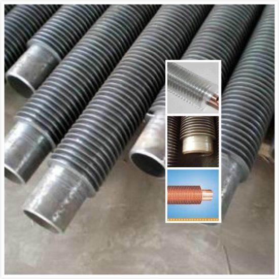 Sb111 C44300 Copper Tube Aluminum Cooling Fins pictures & photos