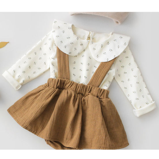 China Bkd Wholesale Girls Rompers Autumn Kids Jumpsuits Baby Girl Clothes  Set - China Baby Clothes and Garment price