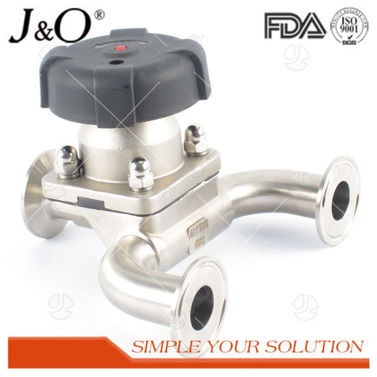 SS316L Sanitary Stainless Steel Aseptic U Type Diaphragm Valve pictures & photos