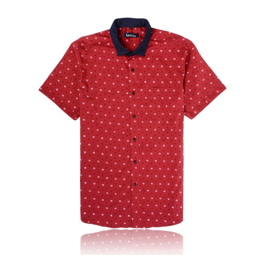 New Style Short Sleeved Men's Fashion Casual Shirts