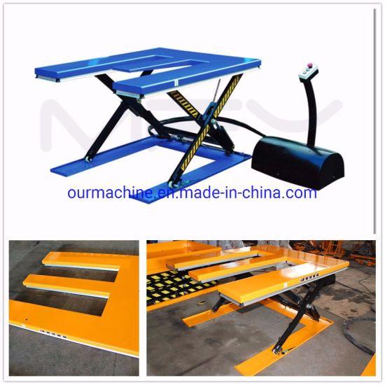 2t Capacity E-Shaped Platform Lifting Table He2000 Series