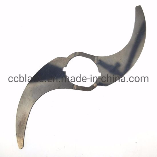 Moon Type Blender Curved Knife Blade Used in Food Process