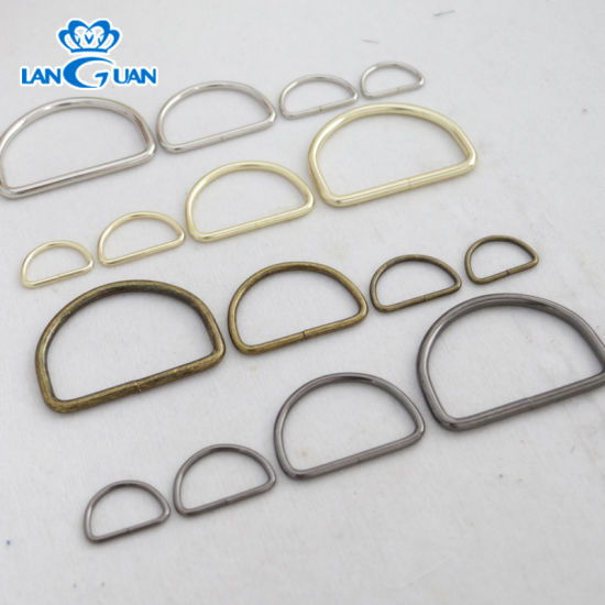 Metal Iron D Ring Welded for Dog Collar pictures & photos