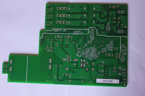 Multilayer PCB 4 Layer Printed Circuit Board Rigid PCB Multilayer Electronic PWB Circuit Board for Power Supply pictures & photos