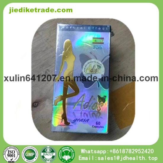 China Botanical Slimming Capsules Gold Adios Grasa Weight Loss Plant