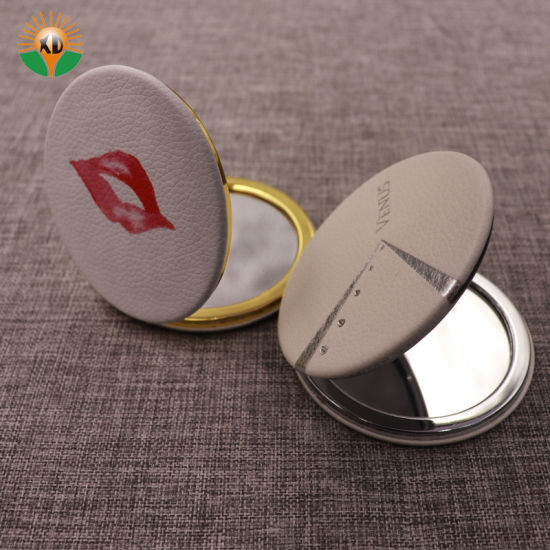 Fancy Folding Vanity Makeup Pocket Mirror for Girl pictures & photos