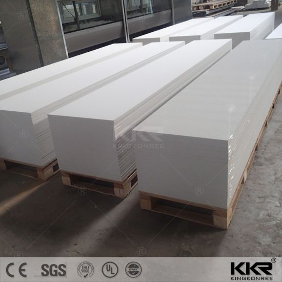 LG Corian Glacier White Acrylic Solid Surface Sheets