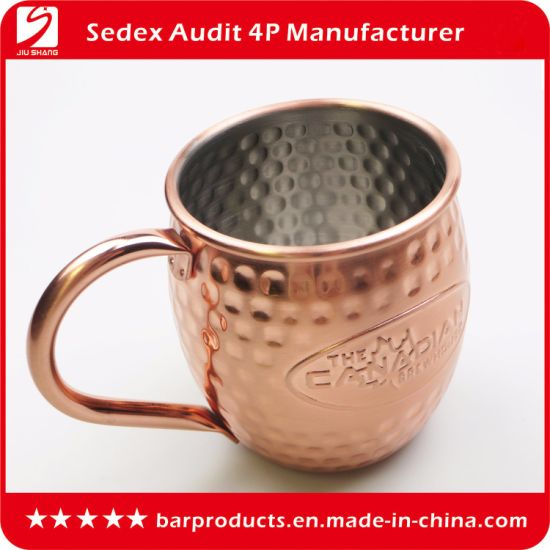 Wholesale Stainless Steel Tumbler Promotion Moscow Mule Mug