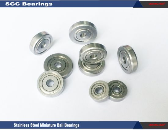 "Stainless Ball Bearings Sr3a, Bore Size 0.1875 Inch with 0.196"" Thickness for Electric Tools"