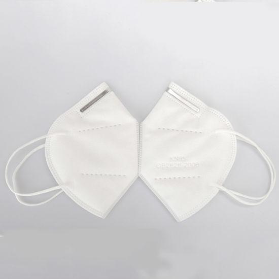 Ce 5 Ply Disposable Non-Woven KN95 Mascarillas Face Mask