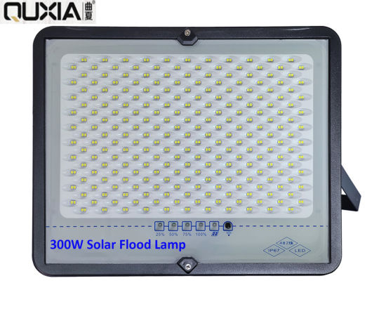 Time Display New Private Model LED Solar Flood Light Competitive Price 25-300W pictures & photos