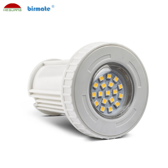 3W 12V Plastic Material IP68 Waterproof LED Underwater LED Swimming Pool Light