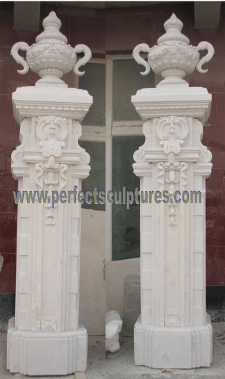 Stone Sandstone Granite Marble Entrance Gate for Doorway Archway (DR046) pictures & photos