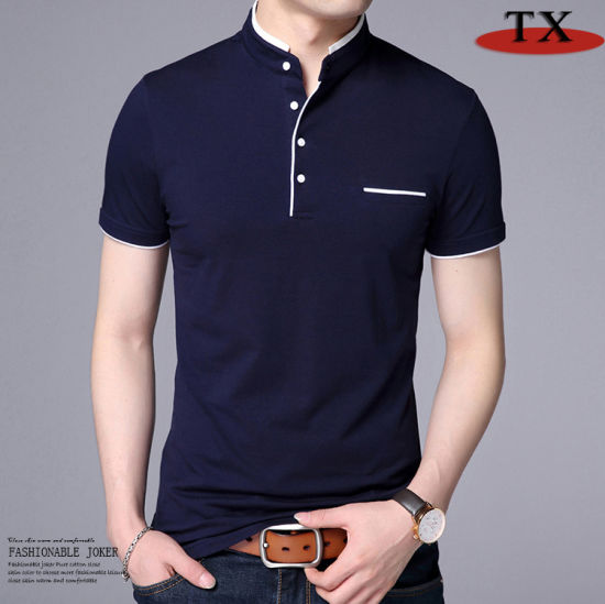 Factory Price Hot Sale Fashion Korean Cotton Man T Shirt pictures & photos