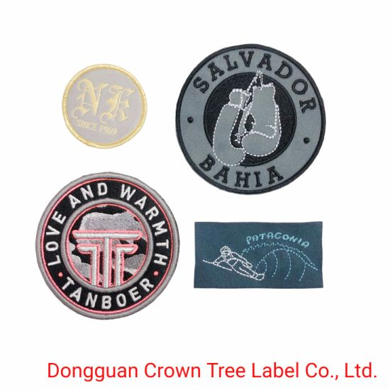 Three Dimension Embroidery Patch with High Definition Logo for Garment Accessories