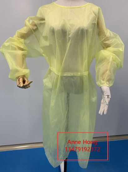 Isolation Gown PP Non-Woven Fabric 30GSM 35GSM