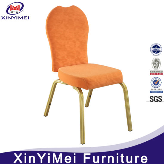 Modern Stackable Aluminum Restaurant Dining Chair (XYM-L45) pictures & photos