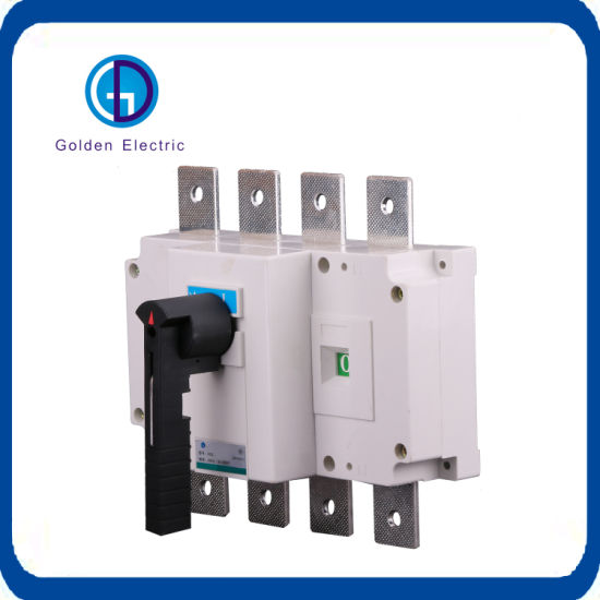china ce 250a 3 pole load disconnect switch ac  dc main