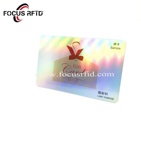 China Custom Rfid Gfit Pvc Card Fitness