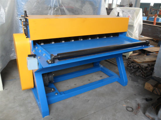 Simple Slitting Machine/Slitting Steel Coils Slitter Line pictures & photos