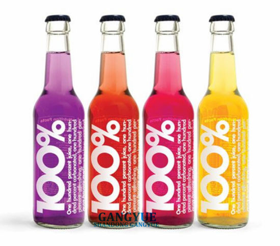 Glass Bottles for Soft Drinking Soda Waters Juice Beverages