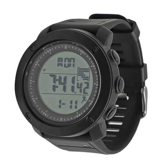 Waterproof Men Wrist Sport Electronic Watch with Pedometer