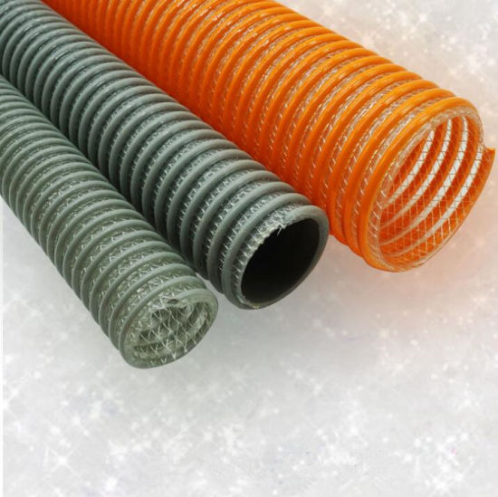 19mm ID 5 Metre Length Clear Braided PVC Hose With Synthetic Reinforment Au.