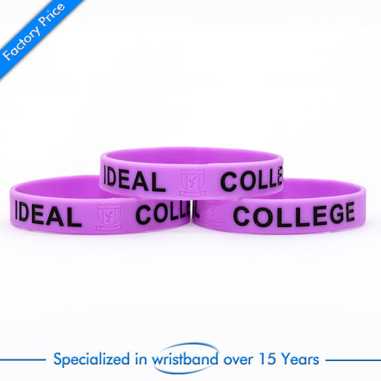 High Quality Promotion Imprinted Wristband Sport Woven Elastic Embossed Fashion pictures & photos
