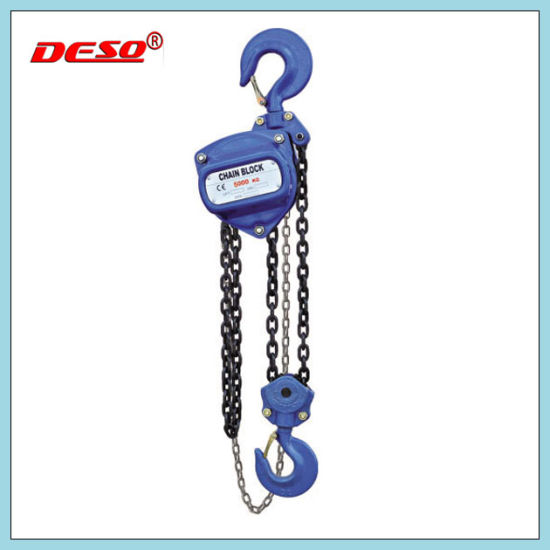 Ce Approved Lifting Equipment 2t Manual Chain Block / Hoist with Hook