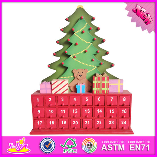 2016 wholesale wooden christmas advent calendar funny wooden christmas advent calendar wood christmas advent calendar w02a173 - Wooden Christmas Advent Calendar