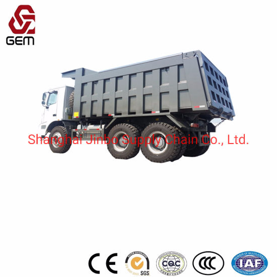 HOWO Mining Tipper Truck with 70 Ton Loading Capacity pictures & photos