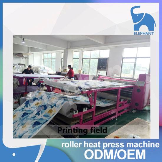 Factory Direct Sale Roller Heat Press Machine for Textile pictures & photos
