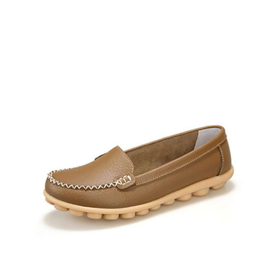 2019 Latest Hospital Working Leather Shoes Comfortable