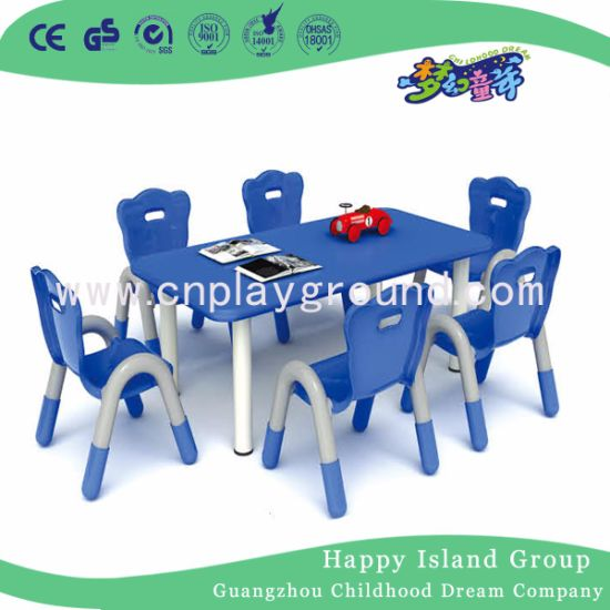 Quality Classroom Furniture Kids Furniture Kids Plastic Table Chair Set (HF-05002) pictures & photos
