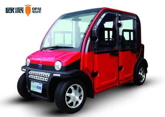 4 Wheel Eco Friendly Electric Cars Small Vehicle 3kw Motor Pictures