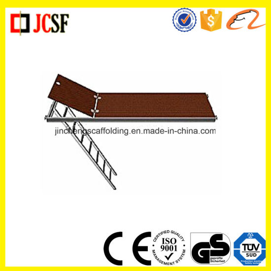 Construction Scaffolding Robust Hatch Type Aluminnium Planks pictures & photos