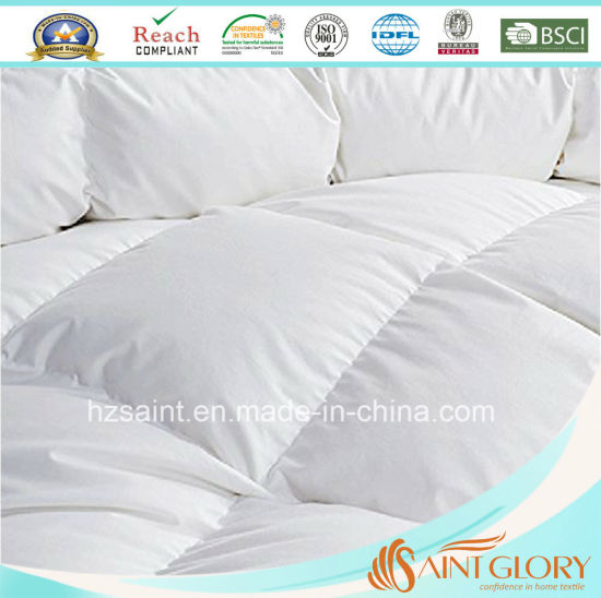 Classic White Duck Down Comforter Goose Feather and Down Quilt/Duvet pictures & photos
