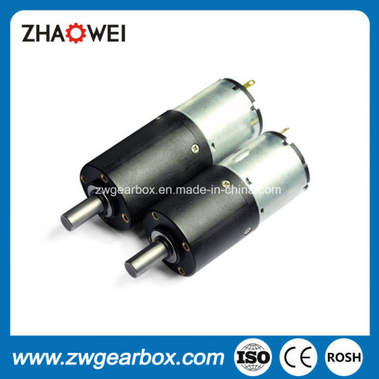 32mm 12V 26rpm DC Reduction Motor with Planetary Gearbox pictures & photos