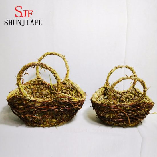 Rattan Flower Pot pictures & photos
