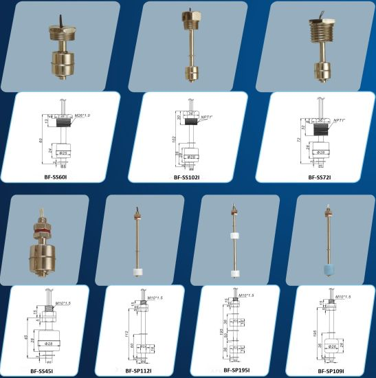 Stainless Steel/PP Float Water Tank/Sewage Tank/Irrigation System Pump Control Level Switch