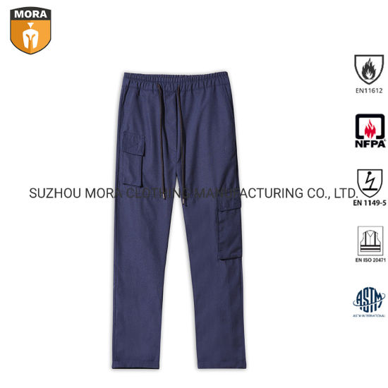 Outdoor Fr Clothing Safety Workwear Trousers Military Trousers Pants with Multiple Pockets