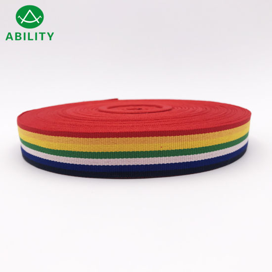 Colorful Popular Grosgrain Ribbon Woven Tape for Fashion Cloth