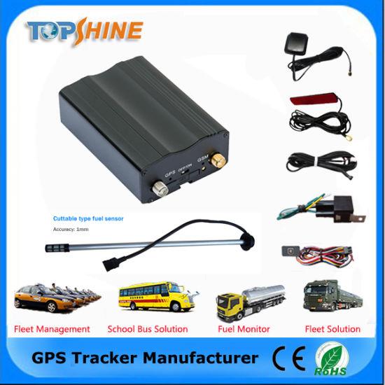 GPS Car Tracker with Armed/Disarmed Car Alarm