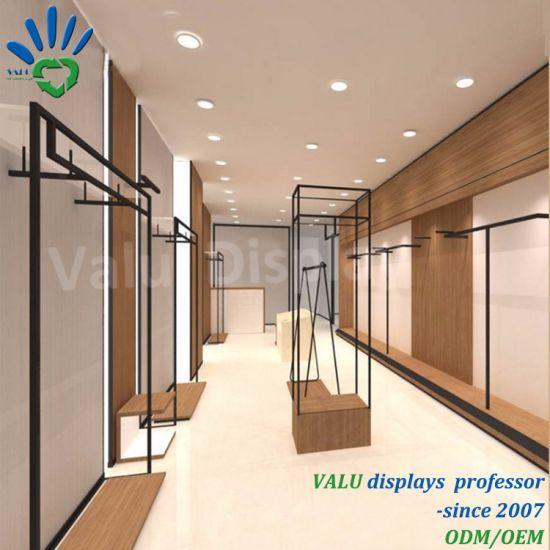 China Fashion Clothes Shop Interior Design Decoration for Garment ...