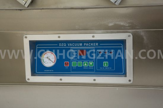 Dz600 Double Chamber Vacuum Packing Machine with Gas Filling pictures & photos