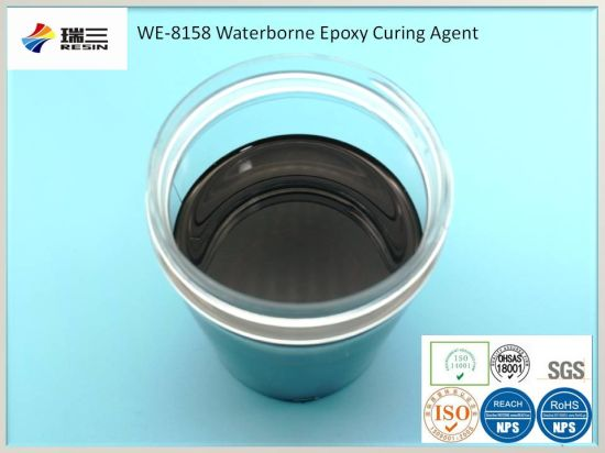 Waterborne Epoxy Floor Paint Raw Materials Resin Curing Agent
