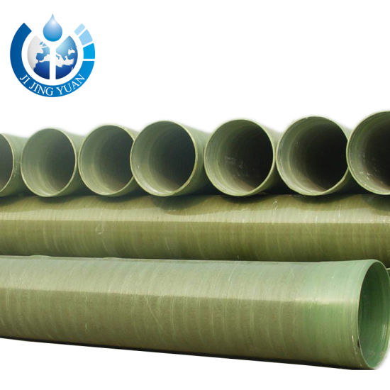 Factory Price Fiberglass Pipe FRP GRP Pipe for Power Plants & Flue-Gas Desulfurization (FGD)