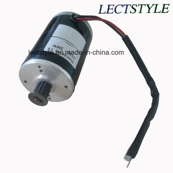 80W 12V 2500rpm Geared Motor for Ergometer Bike and Recumbent Bike pictures & photos