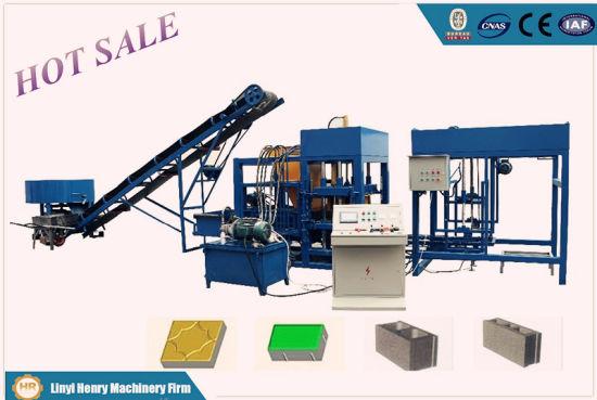 Qt4-20 Automatic Block Moulding Machine Paving Blocks Hourdis Brick Making Machinery
